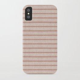 ZHI STRIPE PINK iPhone Case