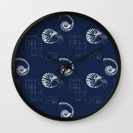 The Amazing Seafaring Nautilus Wall Clock
