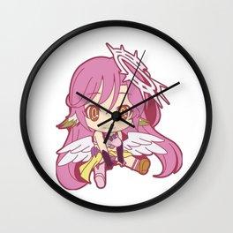 No Game No Life Jibril Waifu Chibi Wall Clock