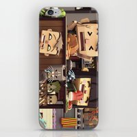 cooking iPhone & iPod Skins featuring Family cooking by benoitrc