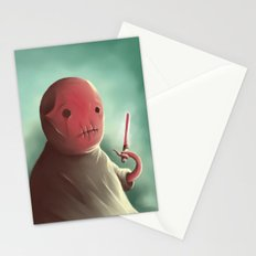 Cuter than master Yoda Stationery Cards