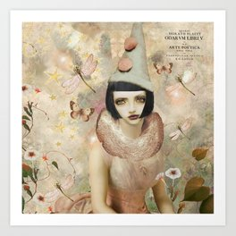 Whimsy my friend. Art Print