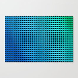 Small and little bluish pattern Canvas Print