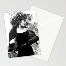 Grease Movie  Olivia Newton-John - John Travolta Stationery Cards