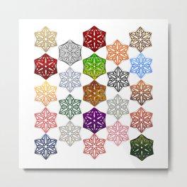 Arabic design Metal Print