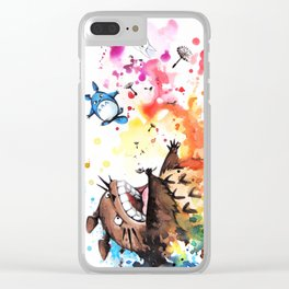 """""""Blown away"""" Clear iPhone Case"""