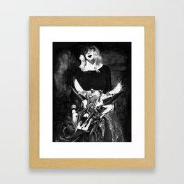 The Widow Framed Art Print