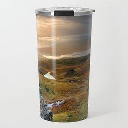 Scotland Scenic Rolling Hills Landscape Travel Mug