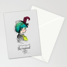 Be original. Stationery Cards