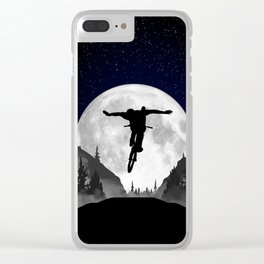 MTB Moon Trick Clear iPhone Case