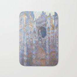 Claude Monet Rouen Cathedral, West Façade Bath Mat