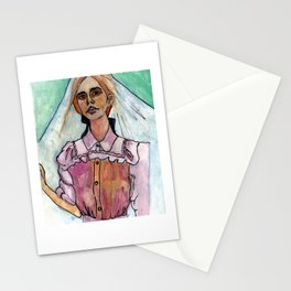 Girl in the Grass IV Stationery Cards