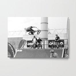 Seatgrab Metal Print