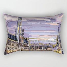Brussels, Belgium pixel art Rectangular Pillow