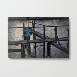 Boats Only Metal Print