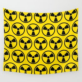 Radioactive Pattern Wall Tapestry