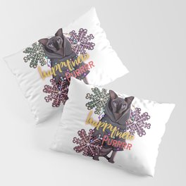 Happy new year happy new pur Pillow Sham