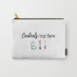 Contents: My Face Carry-All Pouch