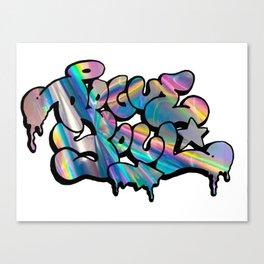 """""""Rogue Soul"""" Hologram Design Canvas Print"""