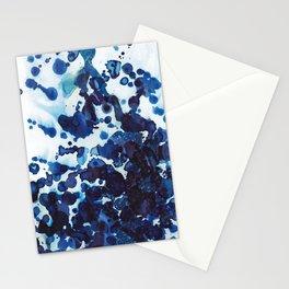 Big ocean waves crashing on the rocks. Stationery Cards