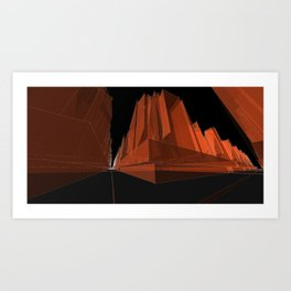 Fripp City C6 Art Print