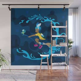 Inkling Delivery Service Wall Mural