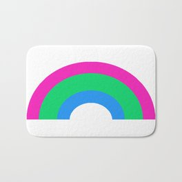 Polysexual Rainbow Bath Mat