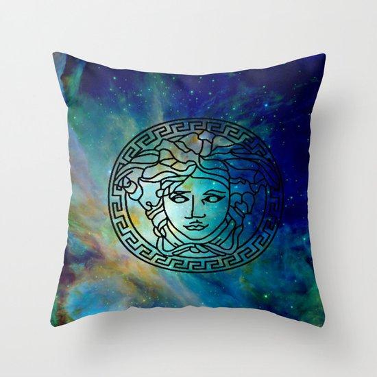 Versace Nebula  Throw Pillow