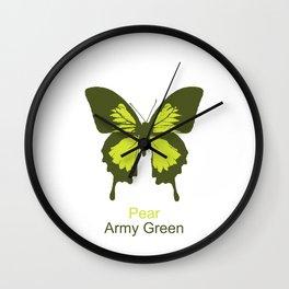 Ulysses Butterfly 11 Wall Clock