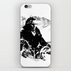 Beethoven Motorcycle iPhone & iPod Skin