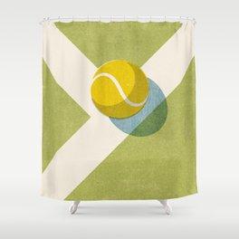 BALLS / Tennis (Grass Court) Shower Curtain