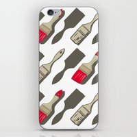 tool iPhone & iPod Skins featuring Tool Time by Pattern Design