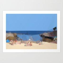 Clovelly Beach 2013 Art Print