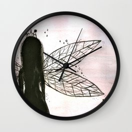 Fairy Queen Wall Clock