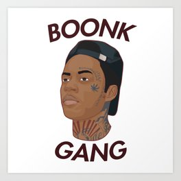 Boonk Gang Shirt Art Print
