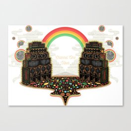 Channel One Soundsystem Vibes Canvas Print