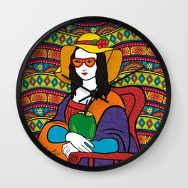Monalisa Tropical Wall Clock