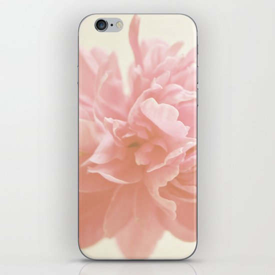 Peony Bloom iPhone & iPod Skin