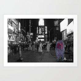 Unseen Monsters of New York - Guffaw Kismet Art Print