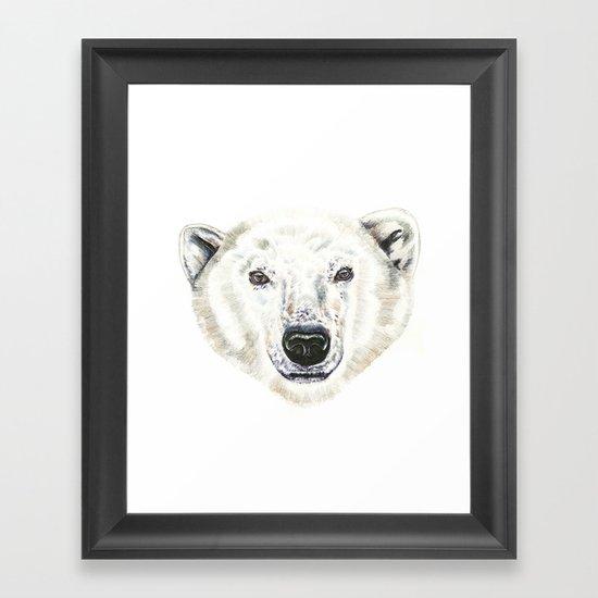 Polar Bear! Framed Art Print