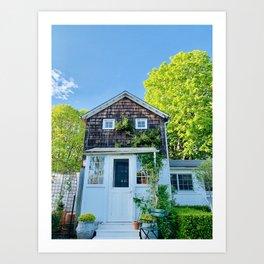 Hamptons Home Art Print