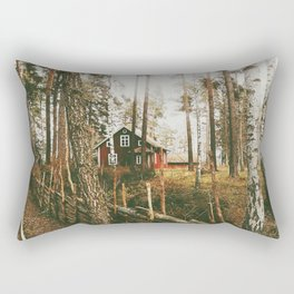 Scandi Landscape Rectangular Pillow