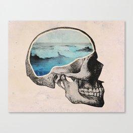 Brain Waves Canvas Print