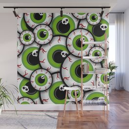 Eyeballs Wall Mural