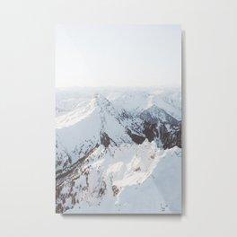 Snowy Mountains in Washington | Pt. 2 Metal Print