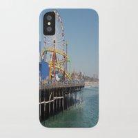 santa monica iPhone & iPod Cases featuring santa monica by vida é muerte