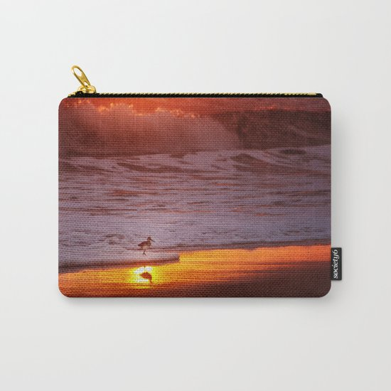 Sunny Sandpiper Carry-All Pouch