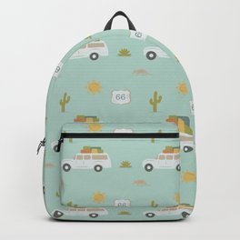 Road Trippin' in Mint Backpack