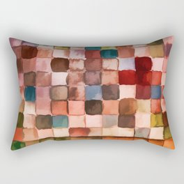 Colorful gift - Geometric watercolor Rectangular Pillow