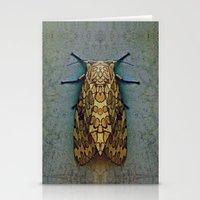 moth Stationery Cards featuring Moth by Zandonai
